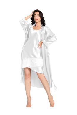 Robe de Chambre Pyjama Soie Femme