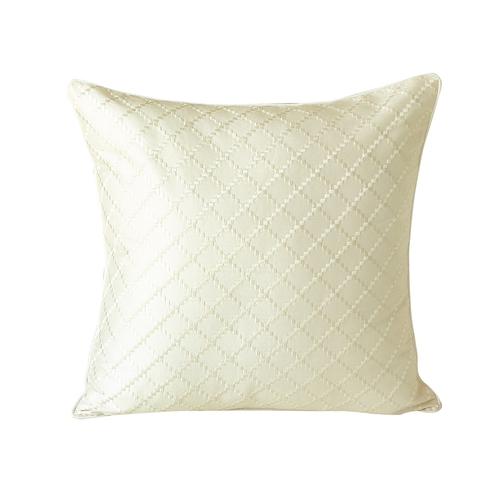 housse de coussin en doupion de soie 19mm carreaux lilysilk. Black Bedroom Furniture Sets. Home Design Ideas