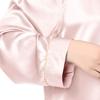 Rose Clair Chemise de Nuit Soie Grande Taille Femme