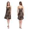 Leopardo Camicia da notte di seta donna