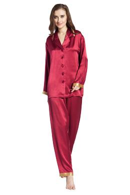 pyjama en soie femme 100 soie naturelle lilysilk. Black Bedroom Furniture Sets. Home Design Ideas