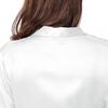 Blanc Pyjama Soie Grande Taille Femme