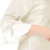Beige Pyjama Soie Grande Taille Femme