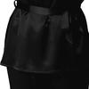 Noir Pyjama Soie Grande Taille Femme