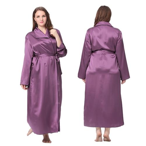 robe de chambre femme en soie 22 momme gt - Robe De Chambre Femme