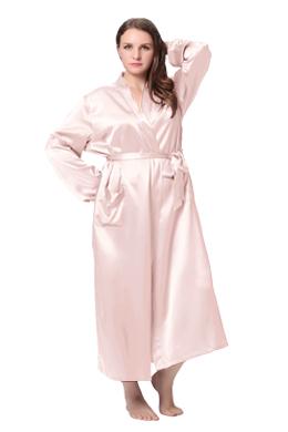 Robe de Chambre Soie Grande Taille Femme
