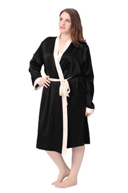 Robe de chambre velours femme grande taille