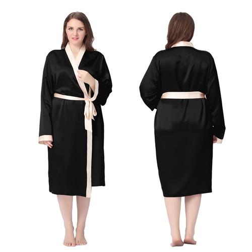 Robe de chambre noire femme  Woman rodes page!