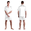 Bianco Pyjashort Homme Soie