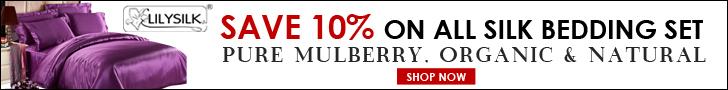 Silk Bedding Set 10% Off by LilySilk Mulberry Silk Bedding