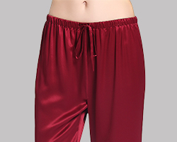 Silk Pajama Bottoms For Women
