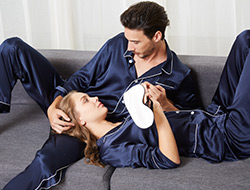 Silk Couple Pyjamas