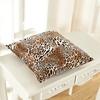 Leopard Silk Pillow Cover