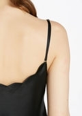 Black Silk Camisoles