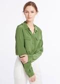 Kale Green Silk Shirts