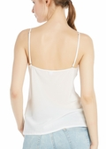 Natural White Silk Camisoles