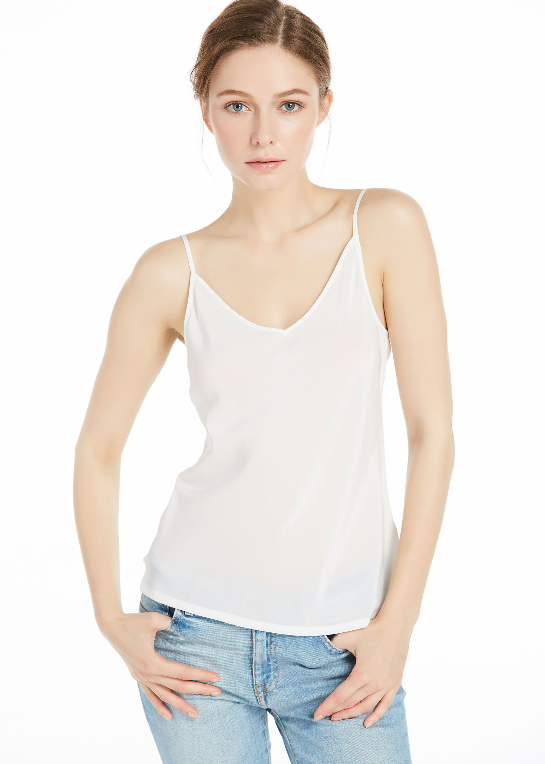 Used for layering or as a summer outer garment, the camisole, tank, and tube top can be fashionable and comfortable style choices. These multifunctional garments are versatile additions to any woman's wardrobe. Differences between camisoles, tanks, and tube tops.