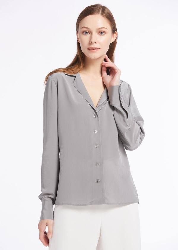 classy-grey-18mm-v-neck-button-front-silk-shirts-01.jpg