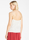 Brown and White Stripe