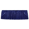Blue Silk Crib Skirt
