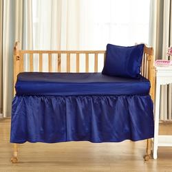 Silk Crib Skirt
