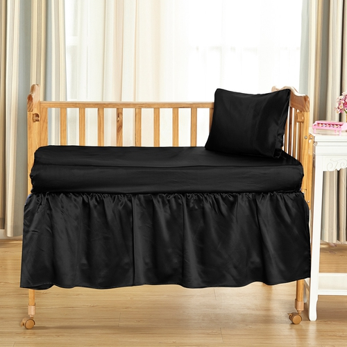 19 Momme Silk Baby Cot Skirt