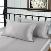 Silvergray Silk Pillowcase