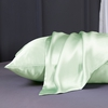 Light Green Silk Pillowcase