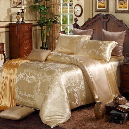 best seamless silk bedding set for sound sleep