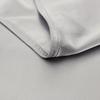 Silber Grau Seide Bettwäsche