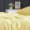 Gold Silk Duvet Cover