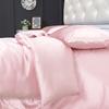 Light Plum Silk Duvet Cover