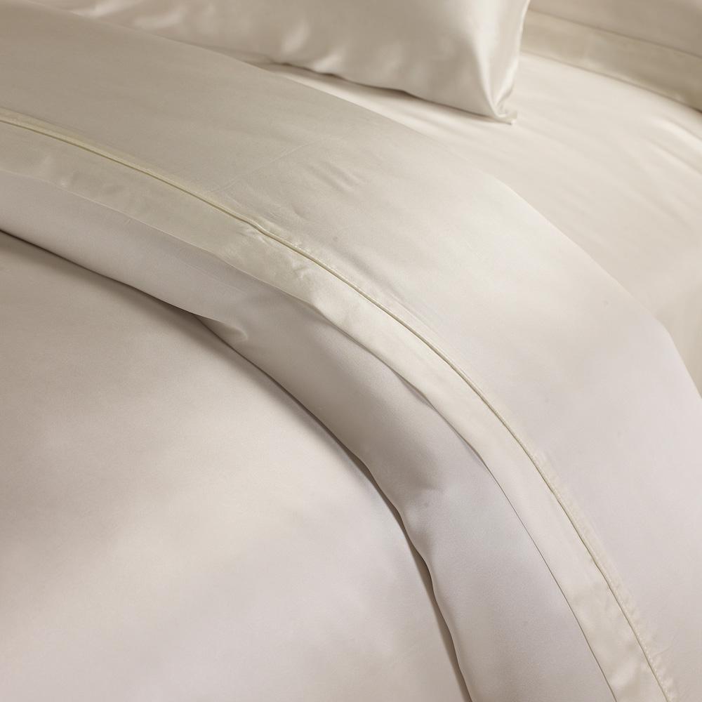100 Mulberry Seamless Silk Duvet Comforter Ivory Cover