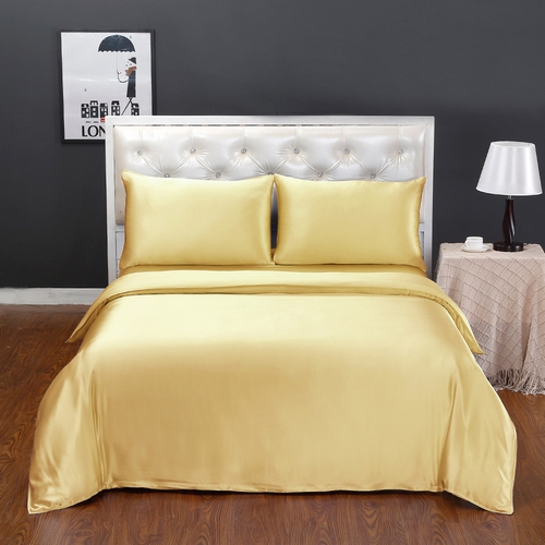 19 Momme Seamless Silk Duvet Cover
