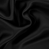 Black Silk Fitted Sheet