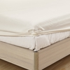 Ivory Silk Fitted Sheet