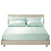 Pale Turquoise Silk Fitted Sheet
