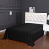 Black Silk Flat Sheet