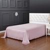 Rosy Pink Silk Flat Sheet