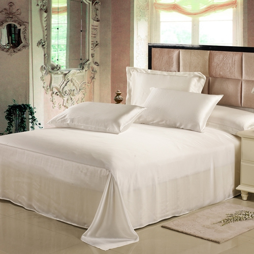 19 Momme Seamless Silk Flat Sheets
