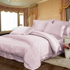 Rosy Pink Silk Sheets
