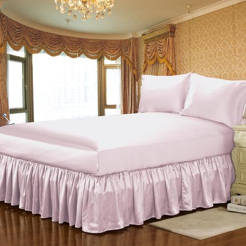 19 Momme Silk Bed Skirt