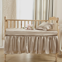 Silk Crib Bedding