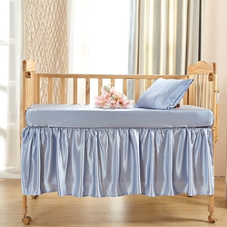 Silk Cot Bed Linen Set