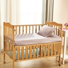 Apricot Silk Baby Crib Fitted Sheets