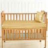 Gold Silk Crib Fitted Sheet