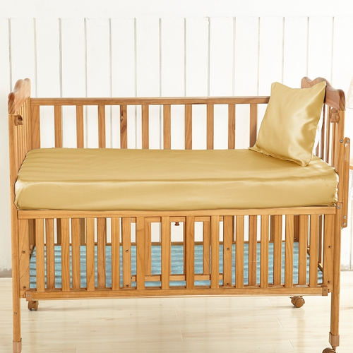 19 Momme Silk Crib Fitted Sheet
