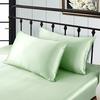 Light Green Silk Pillowcase