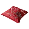 Claret Silk Pillow Cover