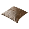 Chocolate Silk Pillow Cover